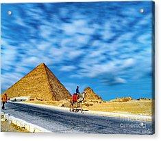 Camel Rider Acrylic Print
