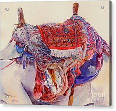 Camel Saddle Acrylic Print by Dorothy Boyer