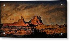Camelback Canyon Lands Acrylic Print by Robert Albrecht