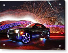 Camero Rs Acrylic Print by Andrew Nourse