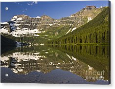 Cameron Lake Acrylic Print by Dee Cresswell