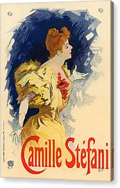 Camille Stefani Acrylic Print by Gianfranco Weiss