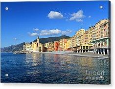 Acrylic Print featuring the photograph Camogli - Italy by Antonio Scarpi