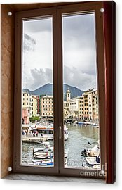 Camogli From My Window Acrylic Print