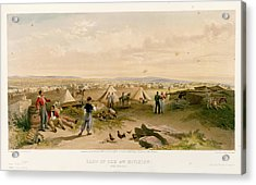 Camp Of The 4th Division Acrylic Print by British Library