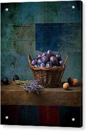 Campagnard - Rustic - S01obv Acrylic Print by Variance Collections