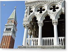 Campanile And Doges Palace Acrylic Print