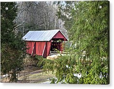 Campbell's Covered Bridge-1 Acrylic Print