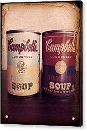 Campbells Redux 2 Acrylic Print