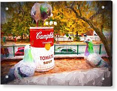 Campbell's Soup Acrylic Print by Bill Howard