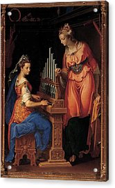 Campi Bernardino, Sts Cecilia Acrylic Print by Everett