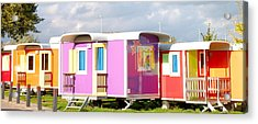 Camping With Style Acrylic Print by Karen Weetman