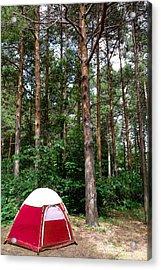 Campsite Near Holland State Park Acrylic Print