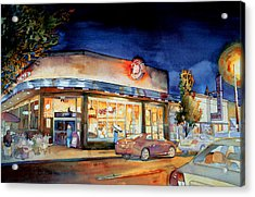 Can Can Carytown Acrylic Print by Jim Smither