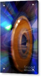Acrylic Print featuring the photograph Can You Tell What It Is Yet? by Martin Howard