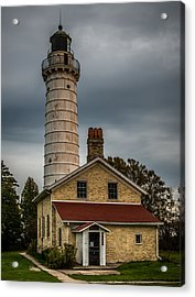 Cana Island Lighthouse By Paul Freidlund Acrylic Print