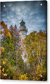 Cana Island Lighthouse II By Paul Freidlund Acrylic Print