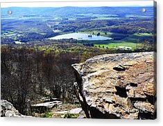 Canaan Valley From Valley View Trail Acrylic Print by Thomas R Fletcher