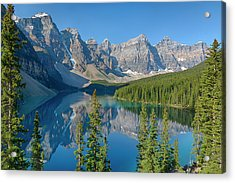 Canada, Banff National Park, Valley Acrylic Print