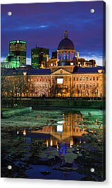 Canada, Montreal, Old Port, Marche Acrylic Print
