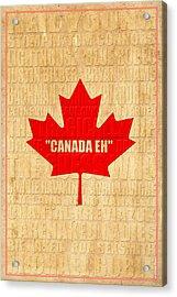 Canada Music 1 Acrylic Print