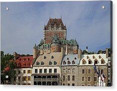 Canada, Quebec City, Chateau Frontenac Acrylic Print