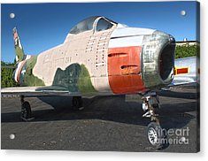 Canadair Sabre Qf-86h Acrylic Print by Gregory Dyer