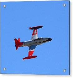 Acrylic Print featuring the photograph Canadair Shooting Star Ct133 by Jeff Lowe