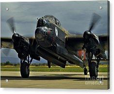 Canadian Avro Lancaster Bomber Acrylic Print