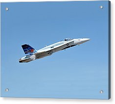 Acrylic Print featuring the photograph Canadian Cf18 by Jim Poulos