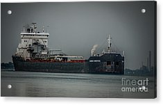 Canadian Enterprise Acrylic Print by Ronald Grogan