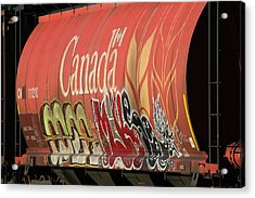 Canadian Graffitti Acrylic Print