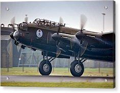 Canadian Lancaster Bomber Acrylic Print