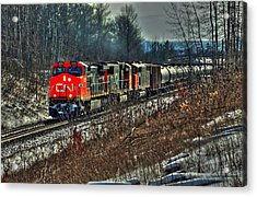 Canadian National Railway Acrylic Print