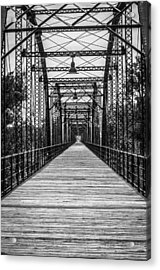 Canadian River Bridge Acrylic Print