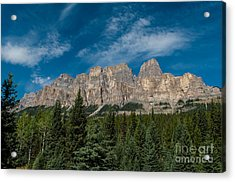 Canadian Rockies 2.0570 Acrylic Print by Stephen Parker