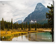 Canadian Rockies 2.0604 Acrylic Print by Stephen Parker