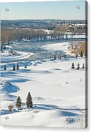 Canadian Winter Acrylic Print