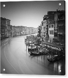 Canal Grande Study IIi Acrylic Print by Nina Papiorek