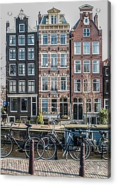 Canal Houses Amsterdam Acrylic Print