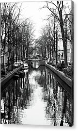 Canal Acrylic Print by John Rizzuto