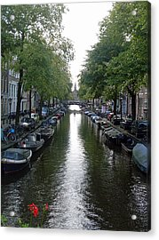 Canal Of Mystery Acrylic Print by Mike Podhorzer