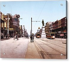 Canal Street New Orleans 1900 Acrylic Print by Unknown