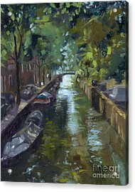 Sold Canals Of Coexistence Acrylic Print