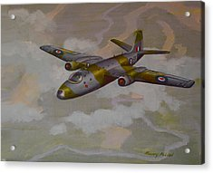 Acrylic Print featuring the painting Canberra Sortie by Murray McLeod