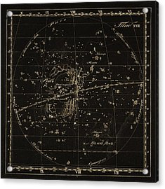 Cancer Constellations, 1829 Acrylic Print by Science Photo Library
