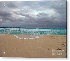 Cancun - Dark Sky Acrylic Print