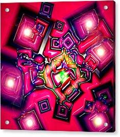 Candels Acrylic Print