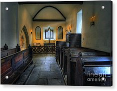 Candle Church Acrylic Print by Ian Mitchell