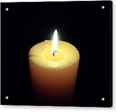 Candle Acrylic Print by Jenna Mengersen